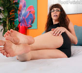 Alexandra Silk Exposes Her Sexy Feet and Gets Fucked 2