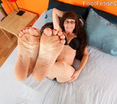 Alexandra Silk Exposes Her Sexy Feet and Gets Fucked 4