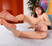 Alexandra Silk Exposes Her Sexy Feet and Gets Fucked 8