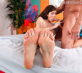 Alexandra Silk Exposes Her Sexy Feet and Gets Fucked 15