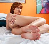 Sasha Heart Wraps Her Sexy Feet Around a Fat Cock 6