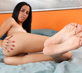 BeBe Mendes Wraps Her Sexy Latin Feet Around a Pulsing Dick 8