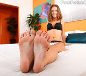 Presley Hart Wraps Her Sexy Feet Around a Pulsing Dick 3