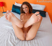 Presley Hart Wraps Her Sexy Feet Around a Pulsing Dick 5