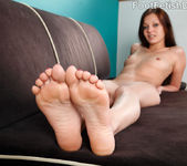 Alexis Venton Wraps Her Sexy Pink Toes Around a Pulsing Cock 8