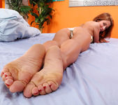 Sheena Shaw Loves a Hard Cock Between Her Feet and Mouth 2