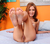 Sheena Shaw Loves a Hard Cock Between Her Feet and Mouth 5