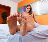 Mischa Wraps Her Sexy Toes Around A Hard Dick 6