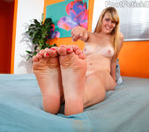 Emma Ash Wraps Her Sexy Feet Around a Black Cock 7