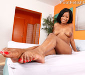 Monique Wraps Her Pale Soles Around a Pulsing Cock 5