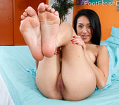 Jayden Wraps Her Sexy Red Toes Around a Pulsing Hard Cock 5