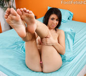 Natalie Nunez Shows Off Her Smooth Latin Feet 6