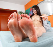 Sophia Worships Lou Charmelle's Sexy Feet and Gets Fucked 8