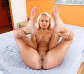 Ivana Sugar Caresses a Hard Dick With Her Sexy Red Toes 6