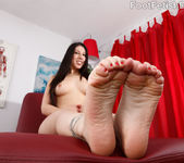 Esperanza Diaz Wraps Her Big Feet Around a Fat Cock 6