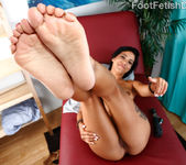 Ember James Exposes Her Pink Toes and Takes a Pussy Pounding 6