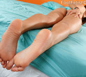 Bella Luciano Loves Wrapping Her Soles Around a Huge Dick 6