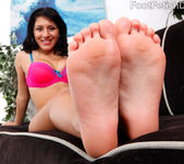Liv Aguilera Wraps Her Sexy Latin Feet Around a Fat Cock 4