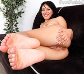 Liv Aguilera Wraps Her Sexy Latin Feet Around a Fat Cock 5