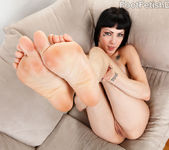 Asphyxia Noir Loves Having Her Feet Worshipped and Fucked 6