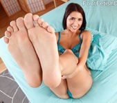 Evi Fox Gives a Footjob and Takes a Pussy Pounding 4