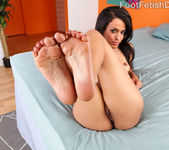 Layla Sin Wraps Her Sexy Feet Around a Big Cock 5