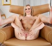 Skylar teases a cock with her sexy feet 6