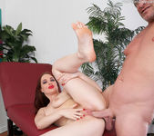 Jessica shows her toes and gets her pussy fucked 14