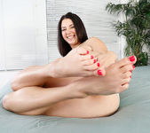 Daisy Summers is happy being a foot teaser 3