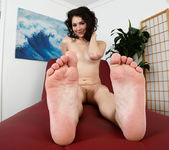 Izzy gets her toes sucked and pussy fucked 4
