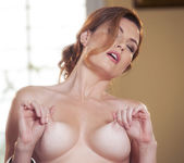 Jamie Lynn Caresses Her Breasts And Fucks Her Pussy 8