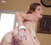Jamie Lynn Caresses Her Breasts And Fucks Her Pussy 11