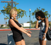 Black Bitch Gets The Boot - Misty Stone 2