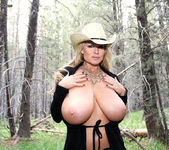 Bare In The Woods - Kelly Madison 11
