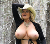 Bare In The Woods - Kelly Madison 14
