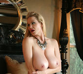 Red Lace Brassiere - Kelly Madison 12