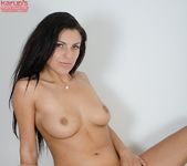 Anellita - slutty brunette poses naked 24