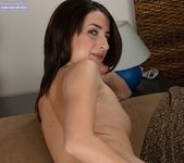Alexa - amateur brunette undresses 20
