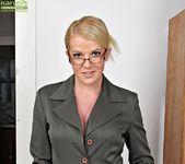 Anita Blue - bossy milf getting naked 2