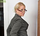 Anita Blue - bossy milf getting naked 3