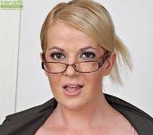 Anita Blue - bossy milf getting naked 5