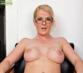 Anita Blue - bossy milf getting naked 16
