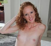 Ande - curly milf spreading her legs 18