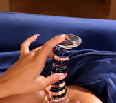 Aneta Keys just loves that glass dildo 16