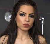 Yurizan Beltran taking a shower 11