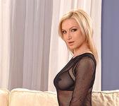 Angela takes off her slutty underwear 3