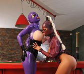 Black Angelica & Latex Lucy 6