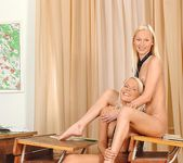 Gitta Blond & Pink Pussy - Euro Girls on Girls 16