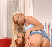 Gina & Michelle - Euro Girls on Girls 4