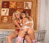 Peaches & Sandra Shine - Euro Girls on Girls 2